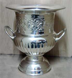 Silver Champagne Bucket/ Vase small