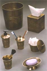 Bathroom Accessoreies in Antique Copper Finish