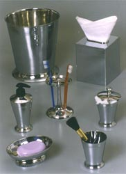 Bathroom Accessoreies in Antique Silver Finish