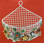 Wrought Iron Baskets�