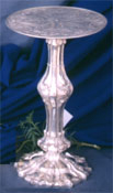 Click here for Silver Powder Coated Finish Pillar Candleholders
