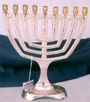 Click here for Menorah Candleholders