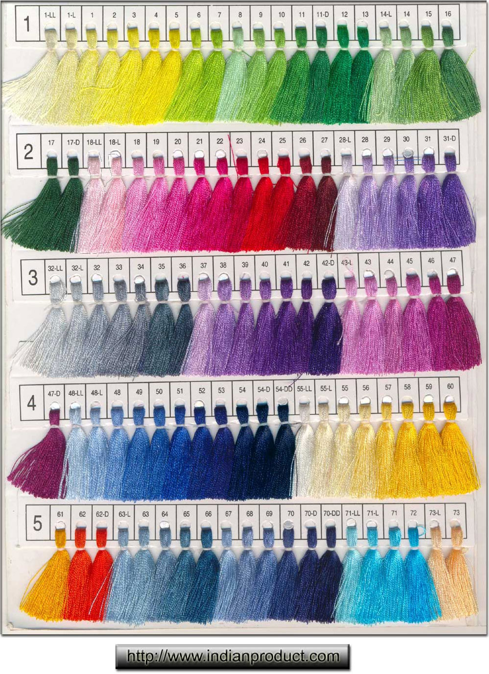 Color chart indianproduct nvjuhfo Images