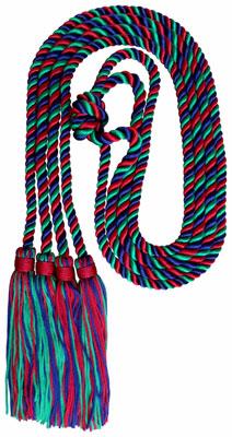 Honor Cord - CUSTOM COLOR DOUBLE PREMIUM honor cords